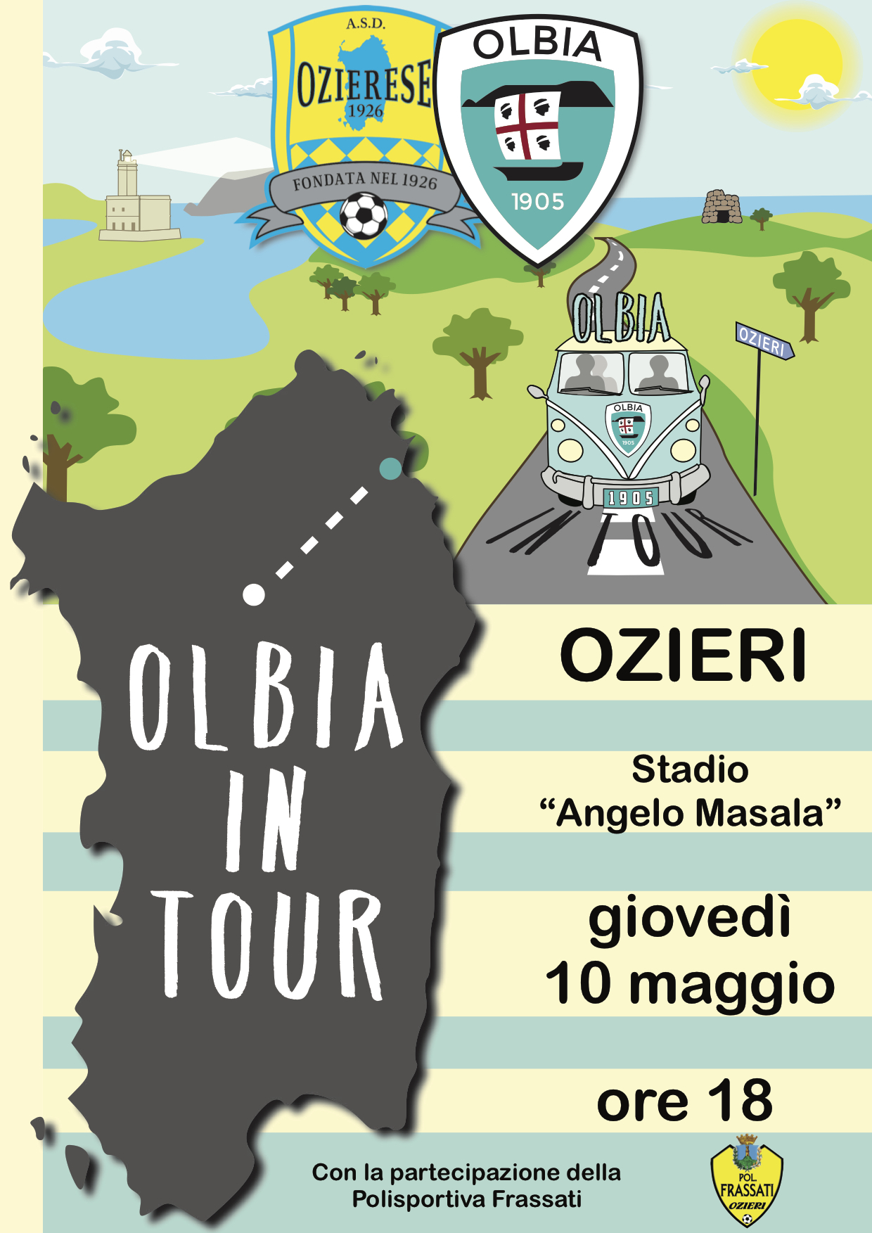 OLBIA IN TOUR: PRIMA TAPPA
